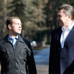 medvedev and yanukovich
